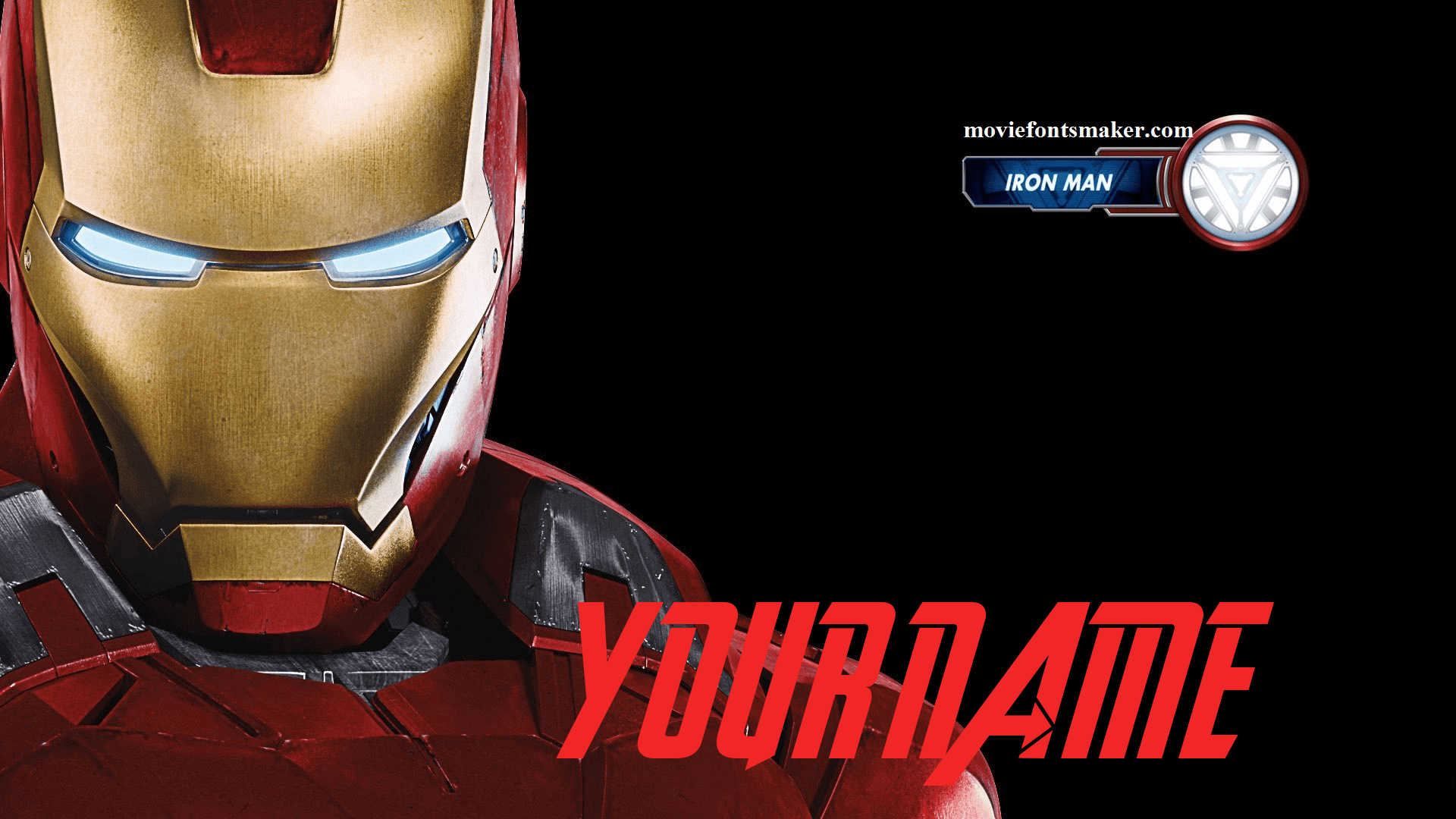 Movie Fonts Maker | Create Your Name in Avengers Movie Fonts Styles