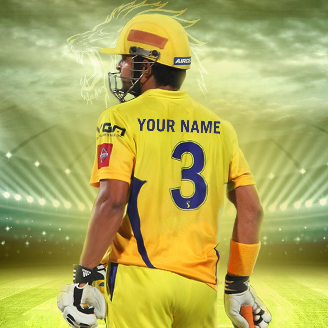 Movie Fonts Maker | Create Your Name in Chennai Super Kings