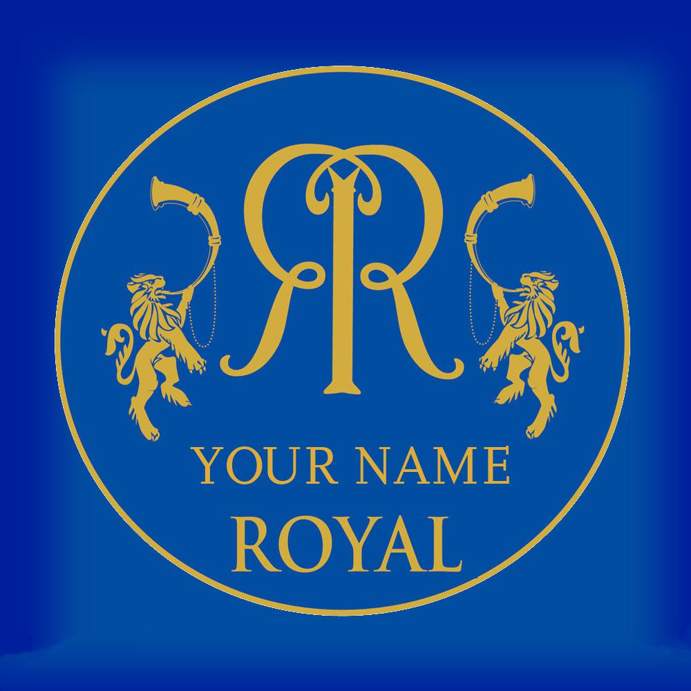 Movie Fonts Maker | Create Your Name in Rajasthan Royals